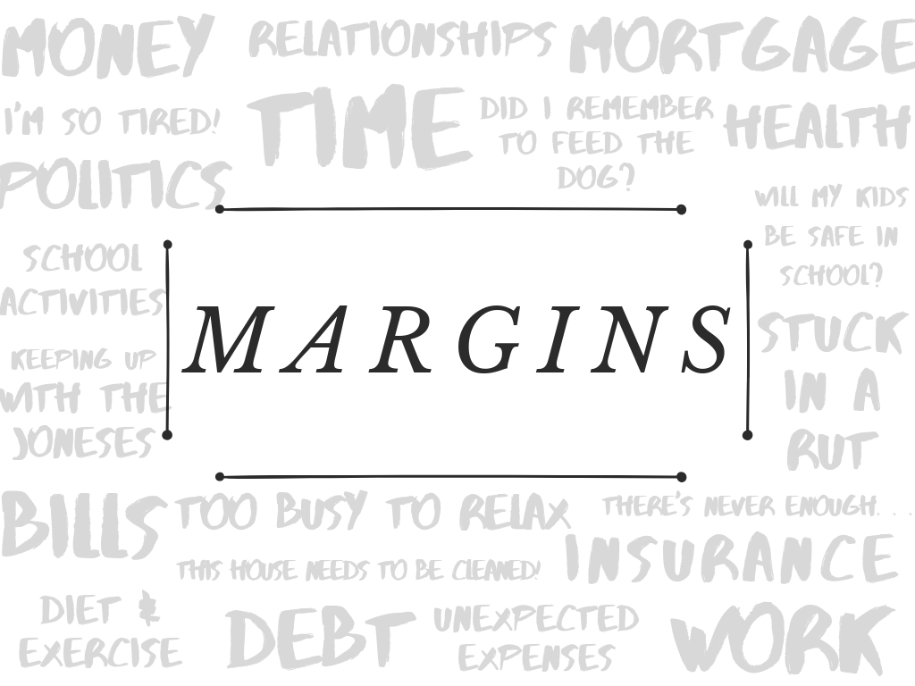 "Sermon Series: ""Margins"" – New Hope Church of the Nazarene"